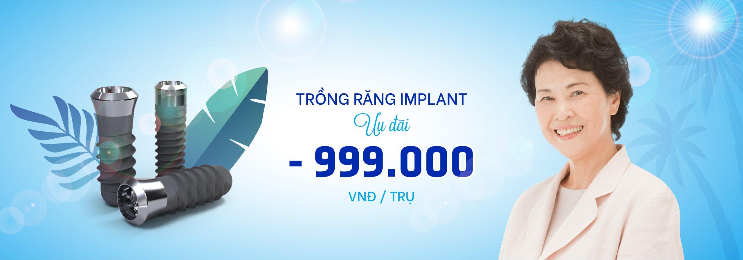 Trồng Răng Implant – Cấy Ghép Implant Chuẩn Quốc Tế