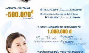 Cùng Nha Khoa Sài Gòn B.H chào tháng 8 bằng hàng loạt ưu đãi hấp dẫn