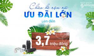 Chào hè rộn rã – Chăm sóc răng miệng tại Nha Khoa Sài Gòn B.H nhận ƯU ĐÃI KHỦNG
