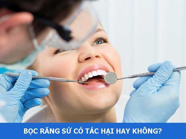 Mài răng để bọc răng sứ có tác hại không?